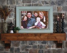 How To Build A Large Frame from Moulding