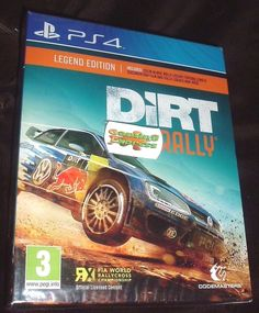 DiRT Rally Legend Edition Playstation 4 PS4 NEW SEALED in Video Games & Consoles, Video Games | eBay