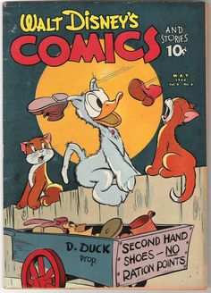 Walt Disney's Comics and Stories (Vol. 4 N° 8, 1944)