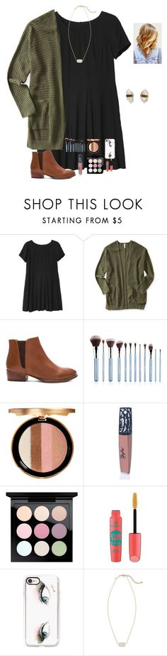 """""""Stomach cramps are the worst """" by raquate1232 ❤️ liked on Polyvore featuring Monki, Aé️️ropostale, Seychelles, Sigma, Too Faced Cosmetics, The Lip Bar, MAC Cosmetics, Essence, Casetify and Kendra Scott"""