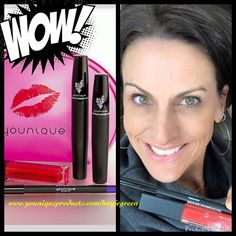 Jeepers where did you get them peepers?!?! Younique!!!! My beautiful Y sister modeling the beautiful colors available in our Love It Bundle!!! Not as bold as you think!!!! This February Kudos is a steal!!! $50 for the glam bag and makeup!!! #longlashes #redlips #lightred #passionate #purpleliner #cutebags #gifts