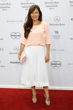 Pin for Later: Die Stars machen Berlin zum Mode-Mekka bei der Fashion Week Carolina Vera bei der Schau von Rebekka Ruétz
