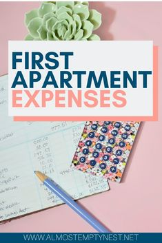 First Apartment Expenses - Almost Empty Nest Don't forget to budget for these 7 expenses when you enter the real world and get your first apartment First Apartment Checklist, Apartment Goals, Apartment Living, Apartment Ideas, Setting Up A Budget, Ikea, Home Furnishing Stores, Elegant Centerpieces, Printable Bible Verses
