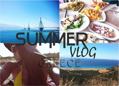 Our latest YouTube Vlog is up: SUMMER IN GREECE 😀   ✅Travel ✅Sun , Sea, Beaches ✅Pescetarian Food  LINK: https://youtu.be/hi9l6qsAzyE