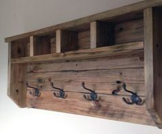In this instructable I will show you how I made a farmhouse style coat hanger all from reclaimed pallet wood. This reclaimed pallet wood project is relatively simple to make with no fancy joinery or woodworking skills need.First you will need to dismantle 1 or 2 pallets. You will also want to clean and prep the planks by removing all nails or screws, also give the wood a good sanding. (Planks size 4 x 1 inch)My household has four members, so I'm going to use four hooks and have four cubby…