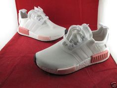 462432804 Adidas NMD R1 W White Icey Pink 3 4 5 6 7 All Sizes BY9952 SportsLocker