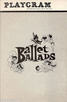 26 best musicals with a majority of roles for women images on ballet ballads 1948 consisted of three parts susanna and the elders fandeluxe Image collections
