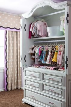 Awesome Jamaica Zralek With Red Leaf Interiors. Armoire For Baby Clothes. You Could  Add Rods And Shelves To An Existing One
