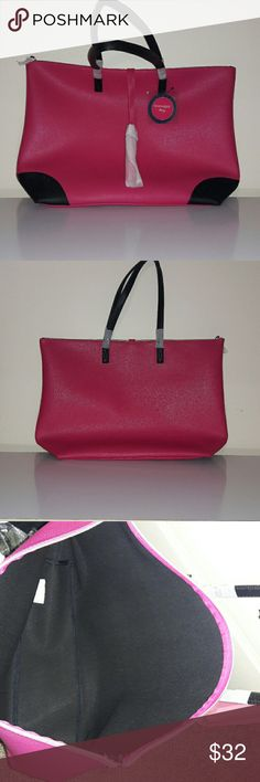 Leather purse New with tag  It's a good size purse for traveling!  The color is beautiful 👜💓 Bags Totes