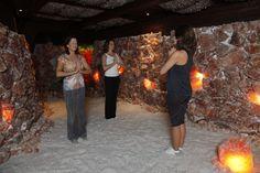 yoga class at Asheville salt cave and spa  salt spa asheville