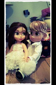 Disney Animator's Collection Dolls Belle & Christoph