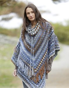 5 Beautiful Poncho Designs