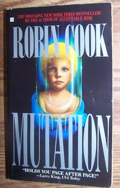 MUTATION by Robin Cook PB Book Combined Shipping Only $1 after 1st!