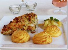 Gizi-receptjei. Várok mindenkit.: Töltött csirkemell hercegnő burgonyával, almamártással. Cauliflower, Smoothie, French Toast, Good Food, Vegetables, Breakfast, Recipes, Foods, Awesome