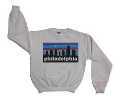 Philadelphia gonia - Philly Skyline Sweatshirt Sweater Jumper Top Shirt - - 032
