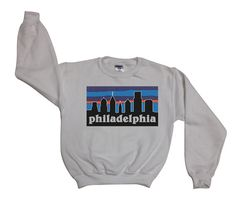 Philadelphia gonia - Philly Skyline Sweatshirt Sweater Jumper Top Shirt - - 032
