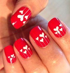 65 Best Valentines Day Nail Design Images On Pinterest Fingernail