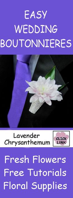 FREE TUTORIALS!  http://www.wedding-flowers-and-reception-ideas.com/make-your-own-wedding.html  Learn how to make bridal bouquets, matching corsages and boutonnieres, centerpieces and church decorations!  Wholesale flowers and professional florist supplies.