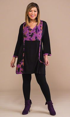 Greenwich Tunic & Leggings / MiB Plus Size Fashion for Women / Fall Fashion http://www.makingitbig.com/product/4611