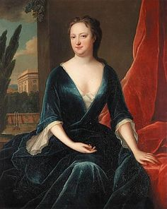 Portrait of a lady by Maria Verelst, 1725-40