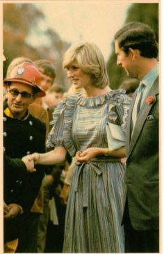 Princess Diana And Prince Charles Australia 1983