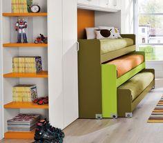 Camerette bambini salvaspazio (Foto) | Design Mag