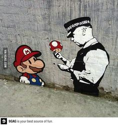 Awesome London street art, Banksy