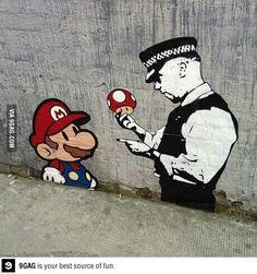 Awesome London street art, Banksy