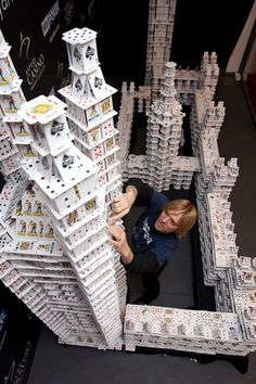 Largest Card Structures by Bryan Berg