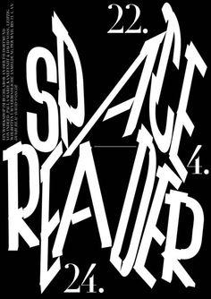 Bureau David Voss, Spacereader Buchlabor Dortmund, poster, 2015
