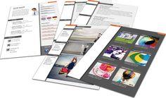 Origineel Portfolio CV format 3208. Volledig in Microsoft Word voor elke functie zelf aan te passen.