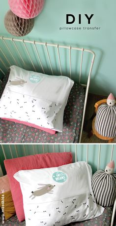 DIY pillowcase transfer