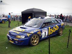 Colin McRae's WRC Subaru Impreza