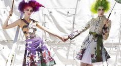 Desigual inspired by the Cirque du Soleil !!! amazing collection ! http://world.desigual.com/#/cirquedusoleil/5/