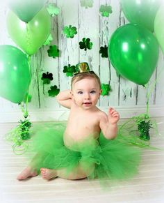 Order by in time for st pattys day, green tutu, newborn, baby, infant… Milestone Pictures, Baby Pictures, Baby Photos, Monthly Pictures, Calendar Pictures, Calendar Ideas, Newborn Photos, Family Pictures, St Patricks Day Pictures