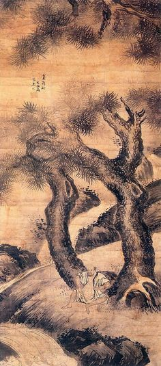 (Korea) by Gyeomjae Jeong Seon. ca century CE. Korean Painting, Japanese Painting, Chinese Painting, Chinese Art, Asian Artwork, Modern Pictures, Korean Artist, Ink Painting, Landscape Art
