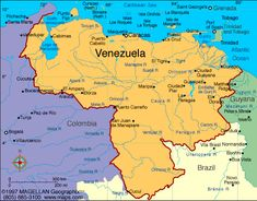 Venezuela: Capital - Caracas: Life Expectancy: - largest country in the world Largest Countries, Countries Of The World, Nassau, Trinidad, History Of Germany, Patagonia, South America Map, Latin America, South American Countries