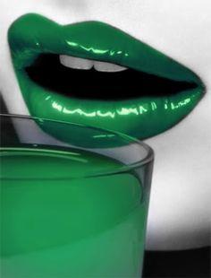 groen | green | vert | grün | verde | 緑 | color | colour | texture | style | form | lips