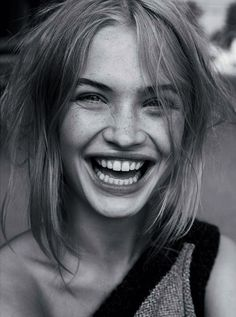 Fresh Faced, Freckle Faced Beauty. | Camilla Christensen @ Le Management | via backspaceforward.tumblr.com