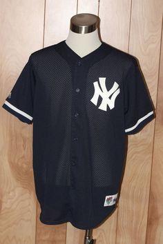 MEN'S NEW YORK YANKEES JETER BASEBALL JERSEY-SIZE: XL #NEWYORKYANKEES #Jerseys