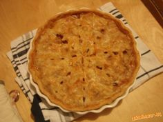 Apple pie recipe (slovak version)