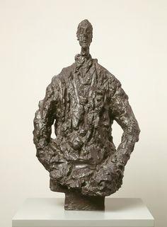 Diego in a sweater by Alberto Giacometti, 1953; Kunsthaus Zurich, Alberto Giacometti-Stiftung