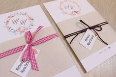 Convite de Casamento Faça Você Mesmo | http://blogdamariafernanda.com/convite-de-casamento-faca-voce-mesmo