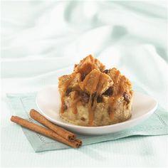Cinnamon Raisin Bread Pudding from Crisco®