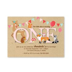 Hey, I found this really awesome Etsy listing at https://www.etsy.com/listing/243767395/first-birthday-party-invitation