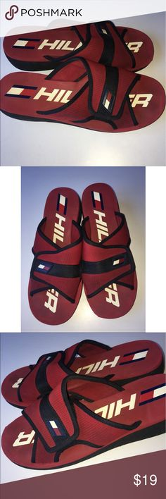 ee9329208 Women s Tommy Hilfiger Chunky Platform sandals 9.5 Vintage Women s Tommy  Hilfiger chunky platform sandals! They