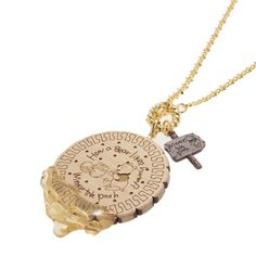Pooh Honey Biscuit Necklace from Q-Pot