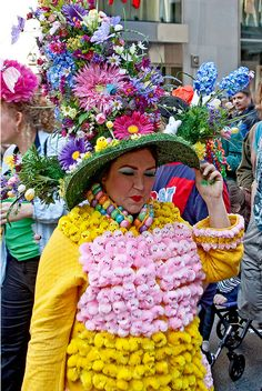 The Peep Lady! NYC Easter Parade 2010 by Erik Anestad, via Flickr