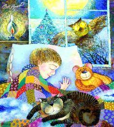 Dreams of a winter night -  Kim Galina