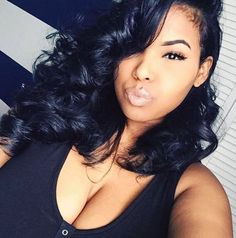 Lace Front Wigs Density Human Hair Wigs with Baby Hair Elastic Cap Body Wave Pre-Plucked Natural Hair Line Love Hair, Gorgeous Hair, Beautiful, Curly Hair Styles, Natural Hair Styles, Beauty Hair Extensions, Body Wave Hair, Hair Laid, Weave Hairstyles